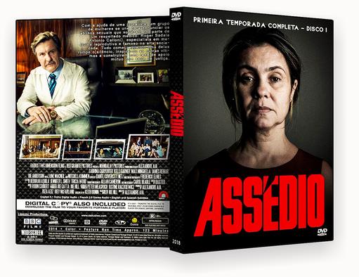 CAPA DVD – Assedio T01 D01 DVD-R AUTORADO