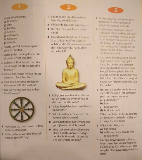 Erikslund 9b Buddhism