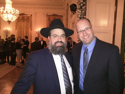 Rabbi Jason Miller with Rabbi Levi Shemtov, Kosher Supervisor at The White House