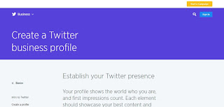 Create a Twitter Page