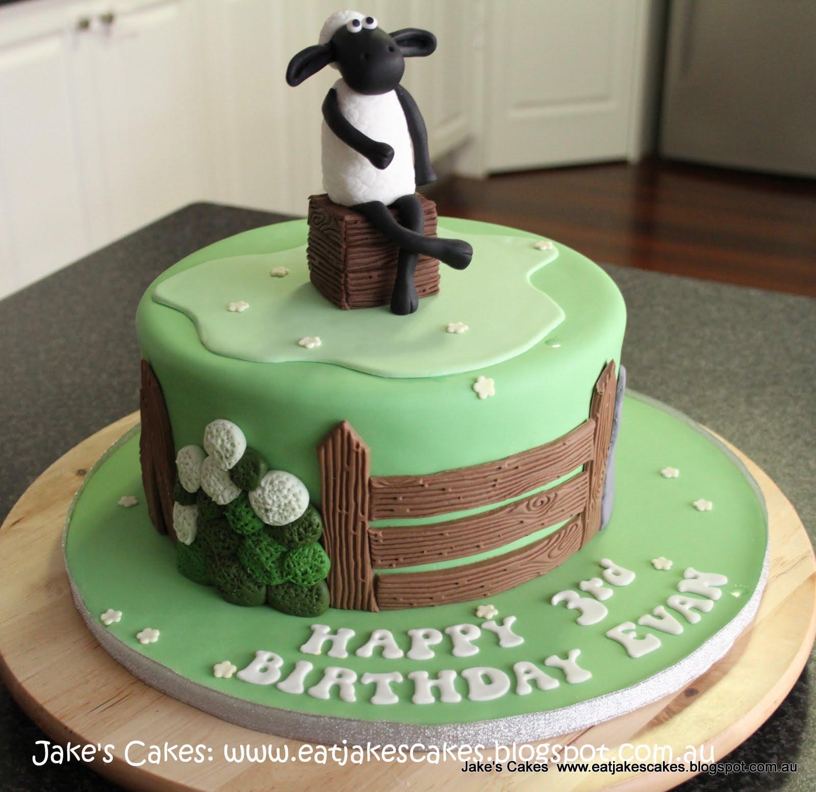 Jake S Cakes Shaun The Sheep Cake