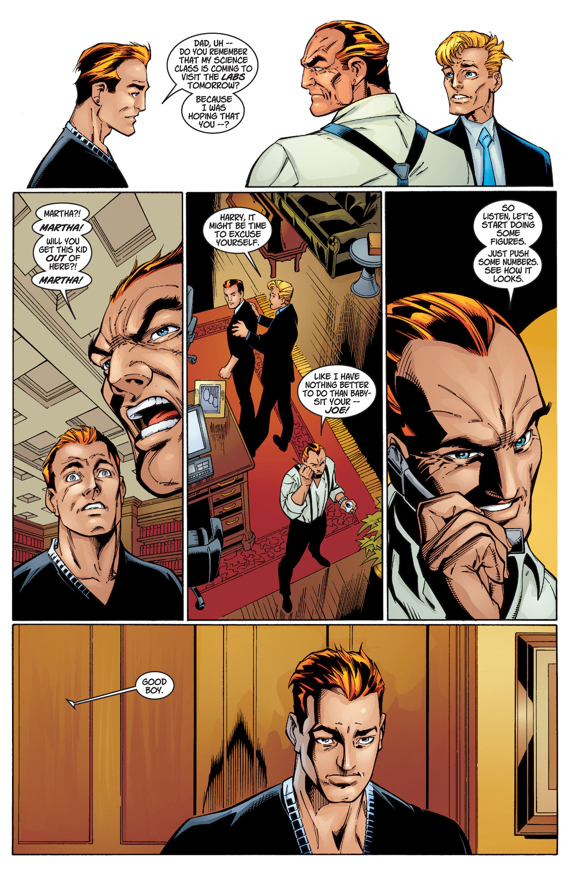 Read online Ultimate Spider-Man (2000) comic -  Issue #1 - 19