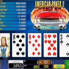 American Poker V Online
