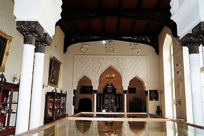 Zamek w Kórniku - Sala Mauretańska