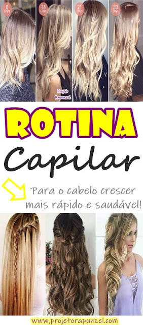 → Rotina Capilar par o Cabelo Crescer Mais Rápido 【Funciona!】