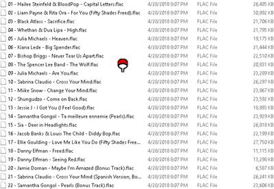 Download Various Artist - OST. Fifty Shades Freed (2018) FLAC Free Full Album Zip Rar HD