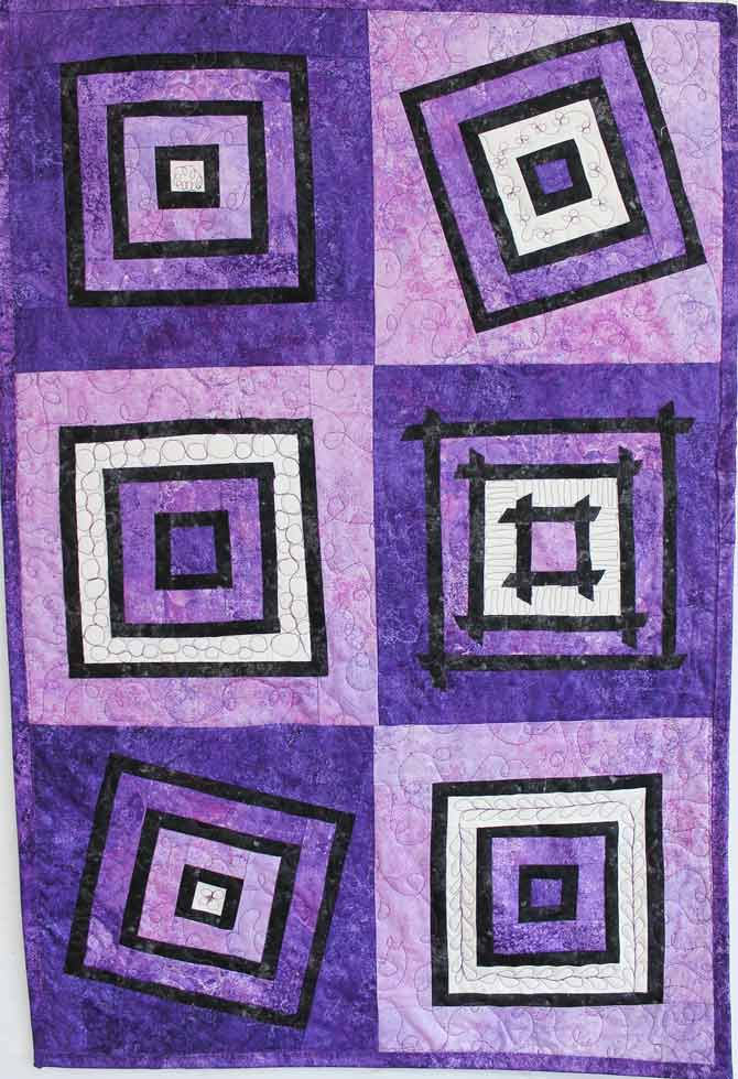 Jackie s Art Quilts: Free Pattern for Quilted Wall Hanging