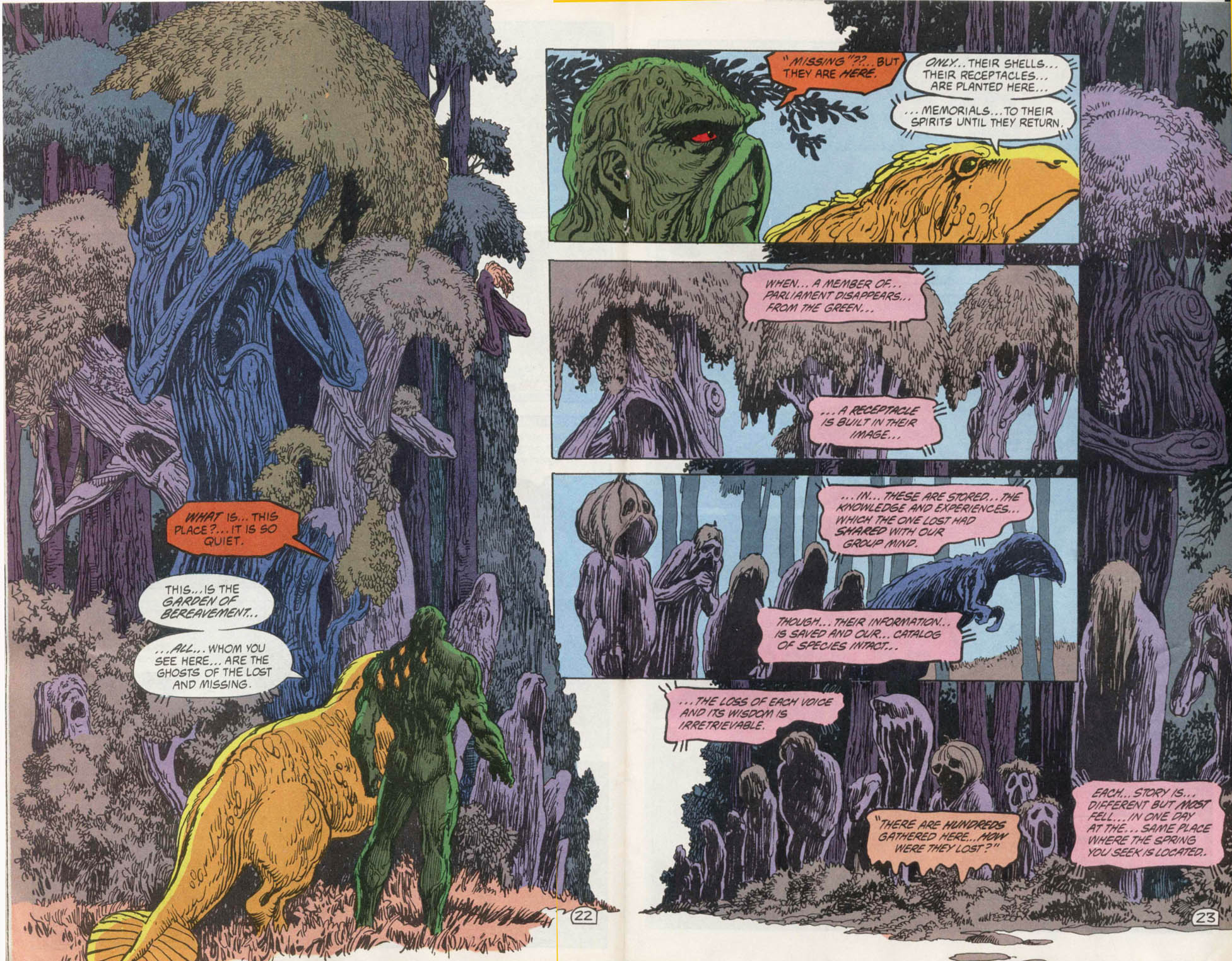 Swamp Thing (1982) Issue #100 #108 - English 22