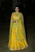 hebah patel photos in yellow ghagra-thumbnail-11