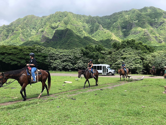 Mama Sahrang Jurassic Valley Kualoa Ranch Horseback Riding