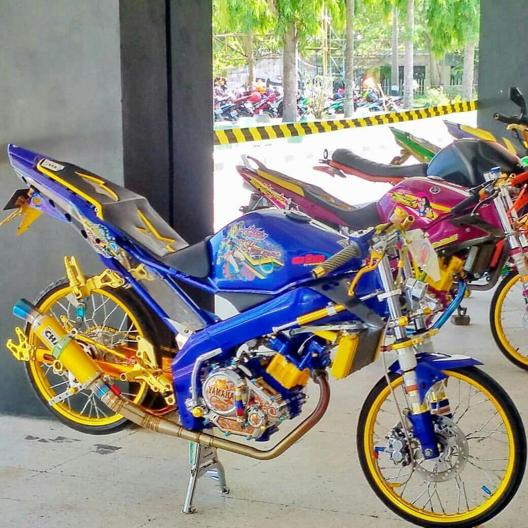Modifikasi Vixion Street Racing New Vixion 2013