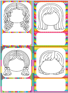 Portrait des enfants + prénom à ajouter