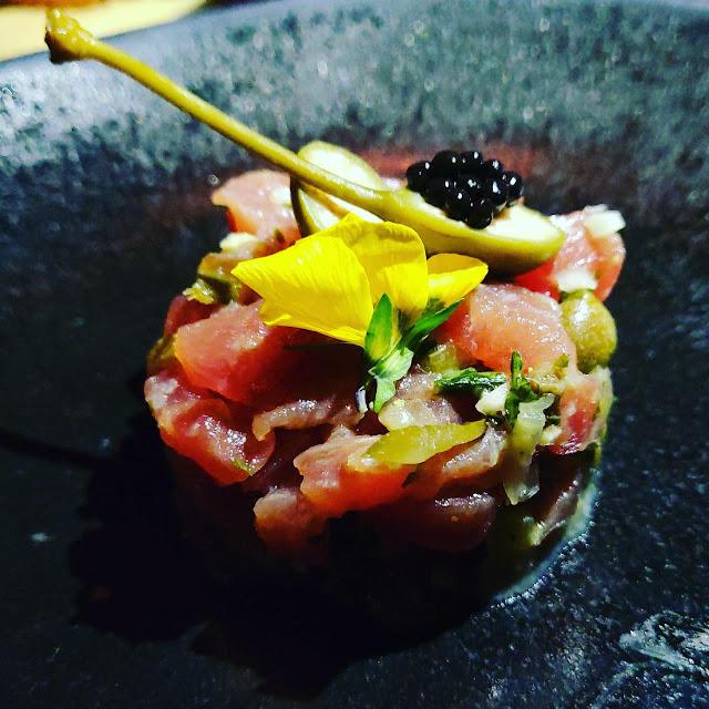 Tuna Tartare, Iron Bloom, Shoreditch