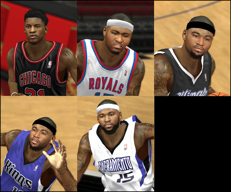 NBA 2K14 Mod Face Update Pack #9