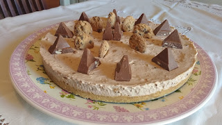 Sweet of the Day: Cheese cake with chocolate Toblerone