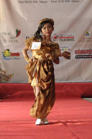 Angelica Nurisky Rahmadhani Gadis Modeling Kota Pati