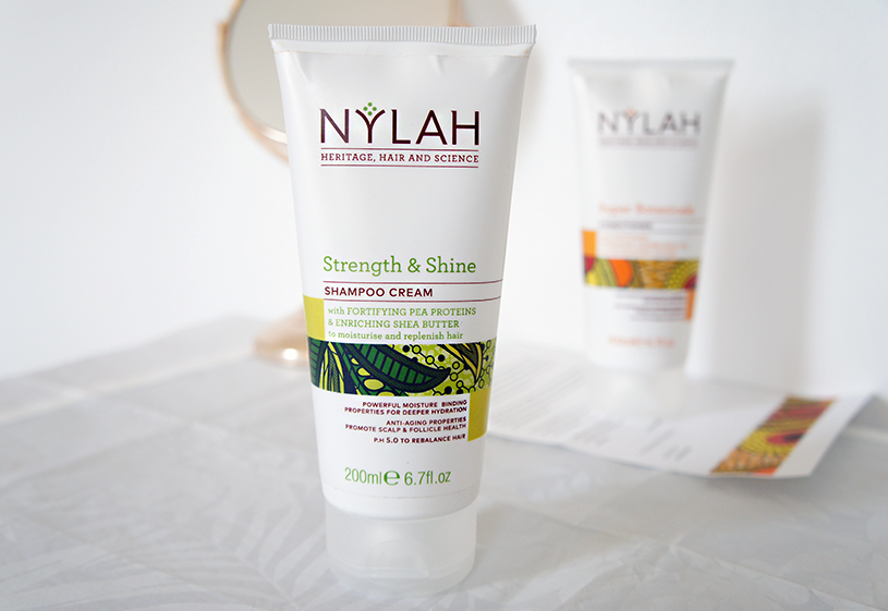 Nylah Strength and Shine Shampoo Cream