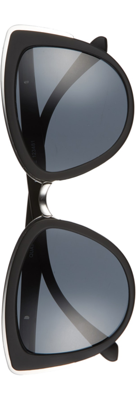 Quay Australia My Girl' 50mm Cat Eye Sunglasses