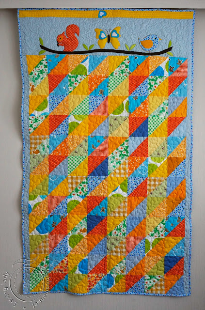 childrens patchwork blanket