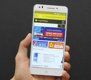 review ZTE Blade D Lux
