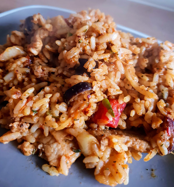 greek chicken rice slimming world friendly recipe gyros