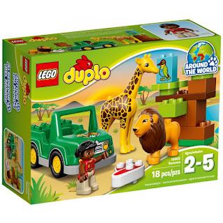 Lego Duplo Arktyka + Sawanna