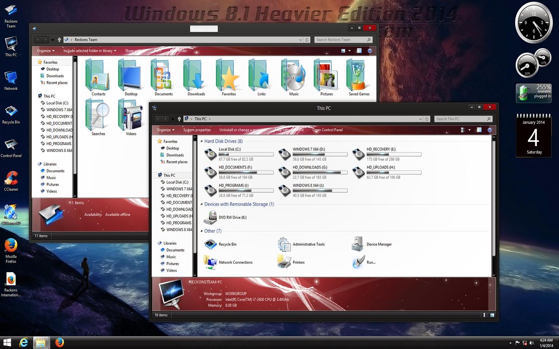 Windows 8 1 Heavier Edition 2014 X64 Download Free Full