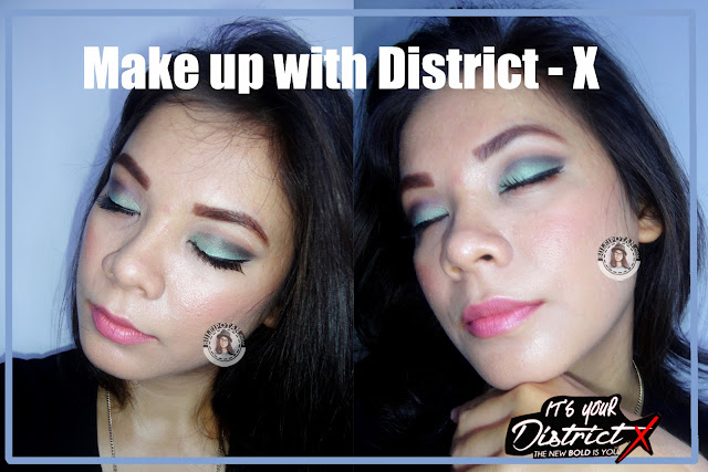 Makeup+menggunakan+District+X+PAC