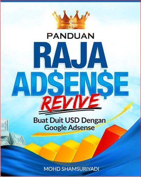 Review Ebook Panduan Raja Adsense - Rahsia Buat Duit USD