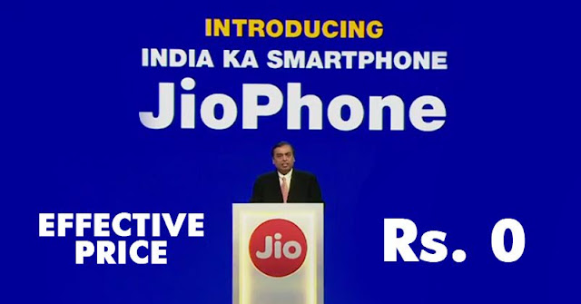 """Mukesh Ambani Launches """"India Ka Smartphone"""" For An Effective Price Of Rs. 0"""