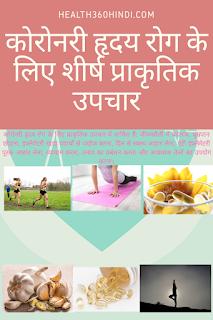 Coronary Heart Disease in Hindi