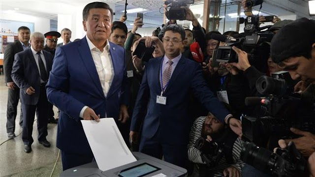 Kyrgyzstan swears in new president Sooronbai Jeenbekov