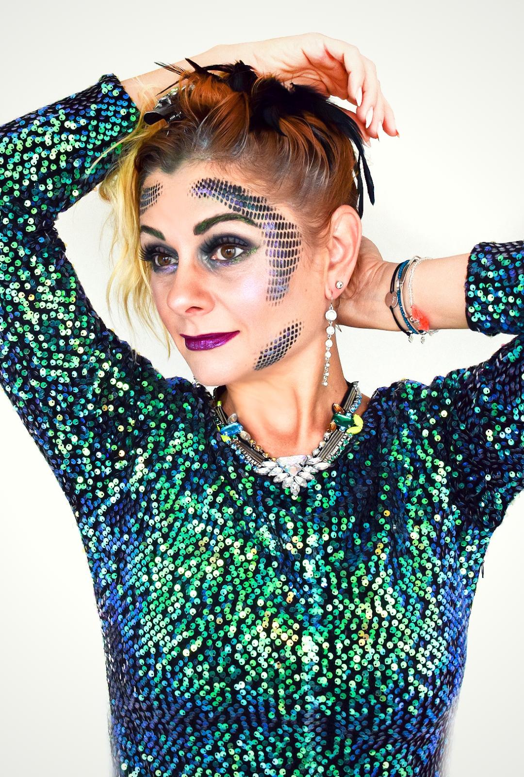 Meerjungfrau, Mermaid Make Up, Tutorial