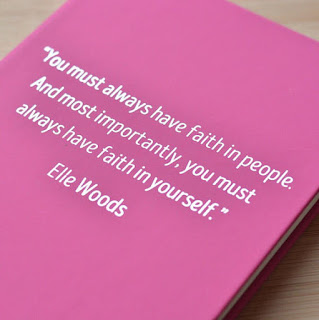You Must Always Have Faith in Yourself notebook | brazenandbrunette.com
