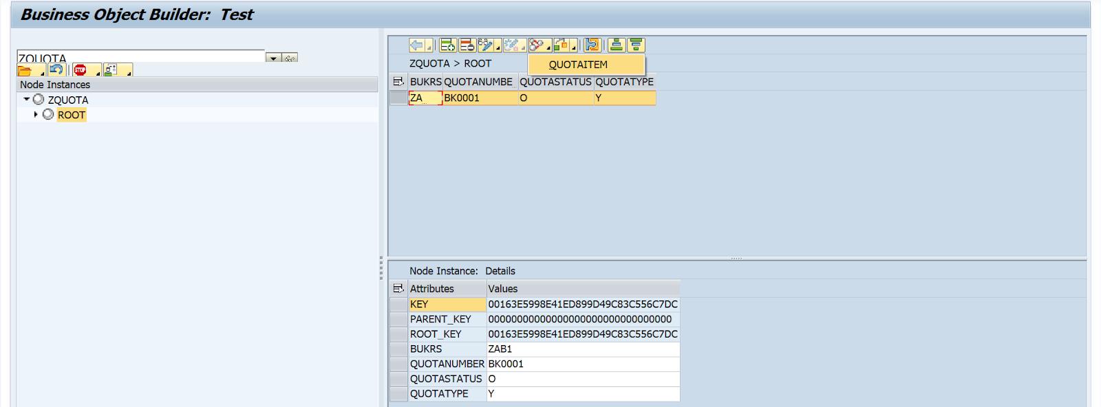 SAP ABAP Central: BOPF: Using Non-UUIDs (DB_KEY) keys DB tables