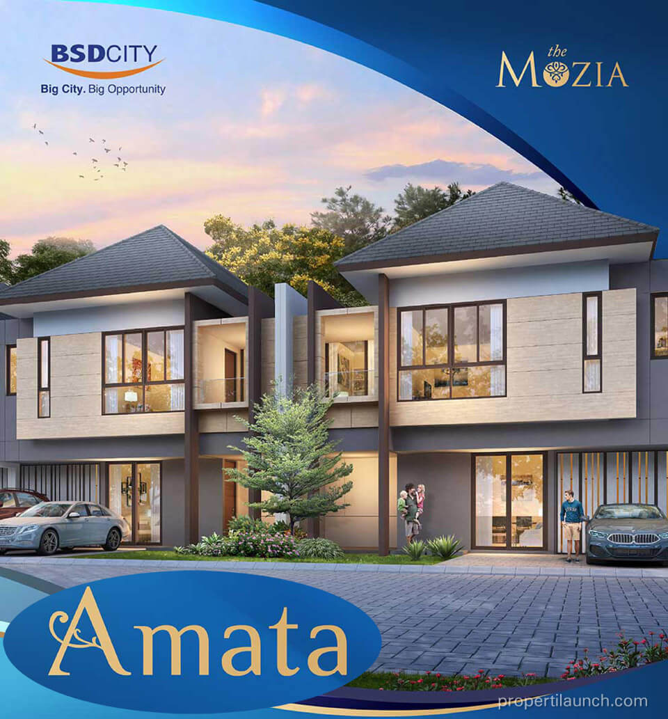Rumah Amata at The Mozia BSD
