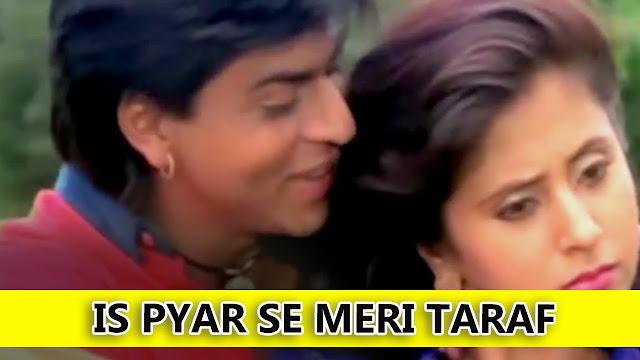 Is Pyar Se Meri Taraf Na Dekho | Kumar Sanu, Alka Yagnik | Chamatkar | Shah Rukh Khan