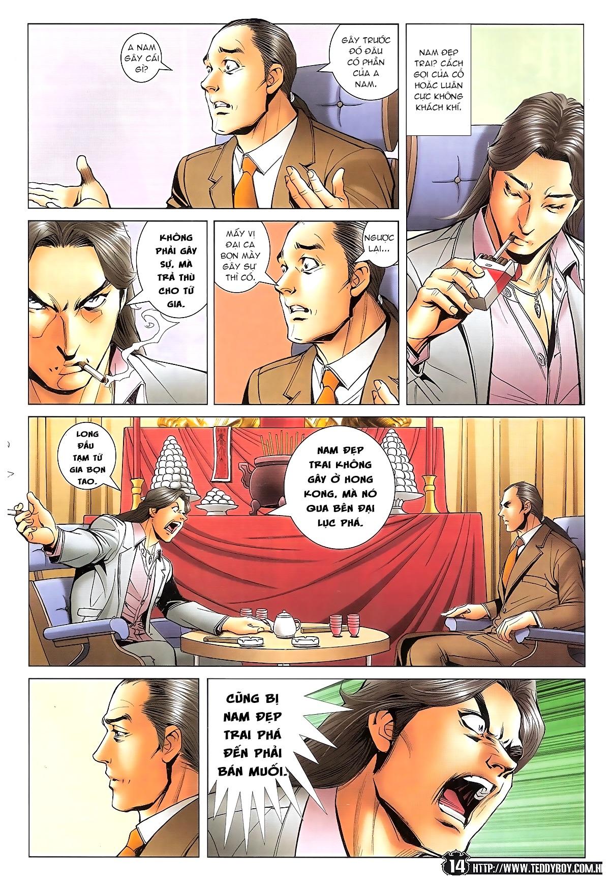Người Trong Giang Hồ - Ngũ Hổ qui thiên - Chapter 1718: Đàm phán siêu cấp 4 - Pic 13