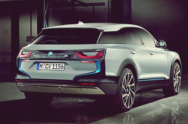 BMW i5 New Designs Crossover SUV