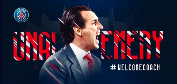 PSG have confirmed former Sevilla coach Unai Emery as their new boss.