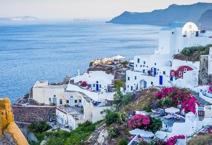 Turismo en las Islas Griegas, Santorini
