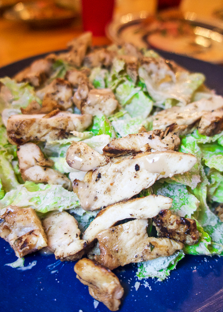 Grilled Chicken Caesar Salad at Arte Pizza in Amelia Island, FL