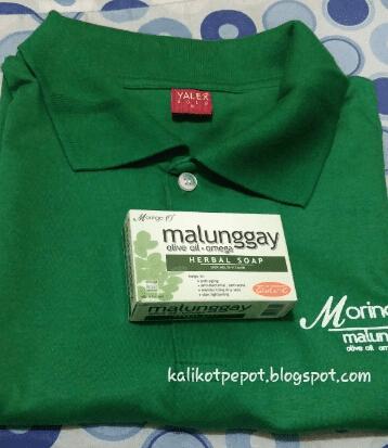 Moringa O2 Soap and T-shirt