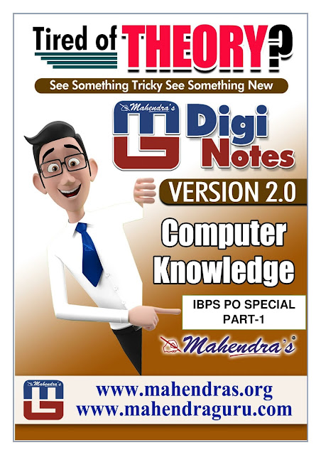 Digi Notes - 2.0 | IBPS SO Special : IBPS PO SPECIAL PART-1 | 14.11.2017