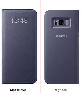 Bao da led view Galaxy S8 chính hãng Samsung
