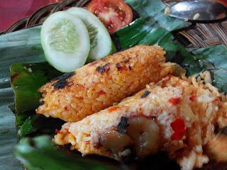 Nasi Bakar Sumsum Mang Puri Khas Serang Banten