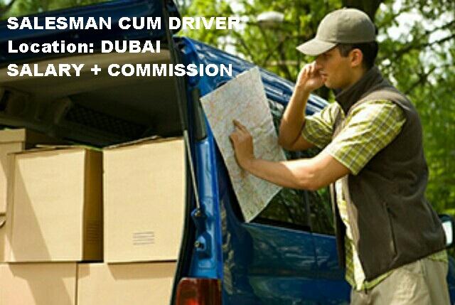 salesman job in dubai, sales jobs in dubai, latest driver jobs in dubai