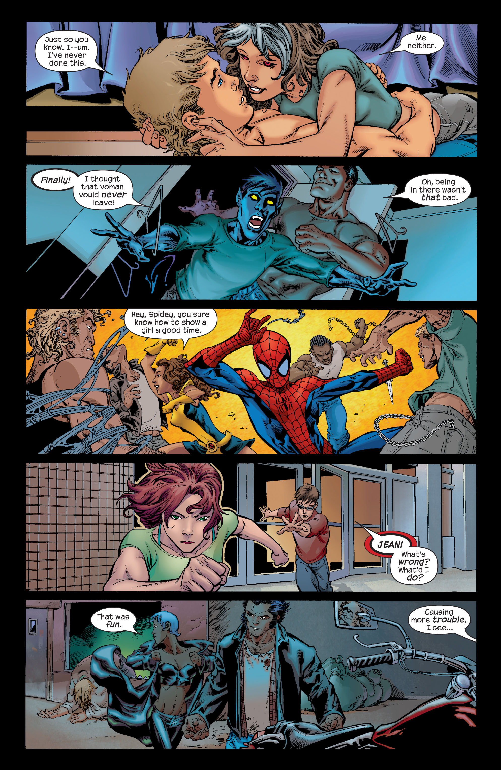 Read online Ultimate X-Men comic -  Issue #66 - 18