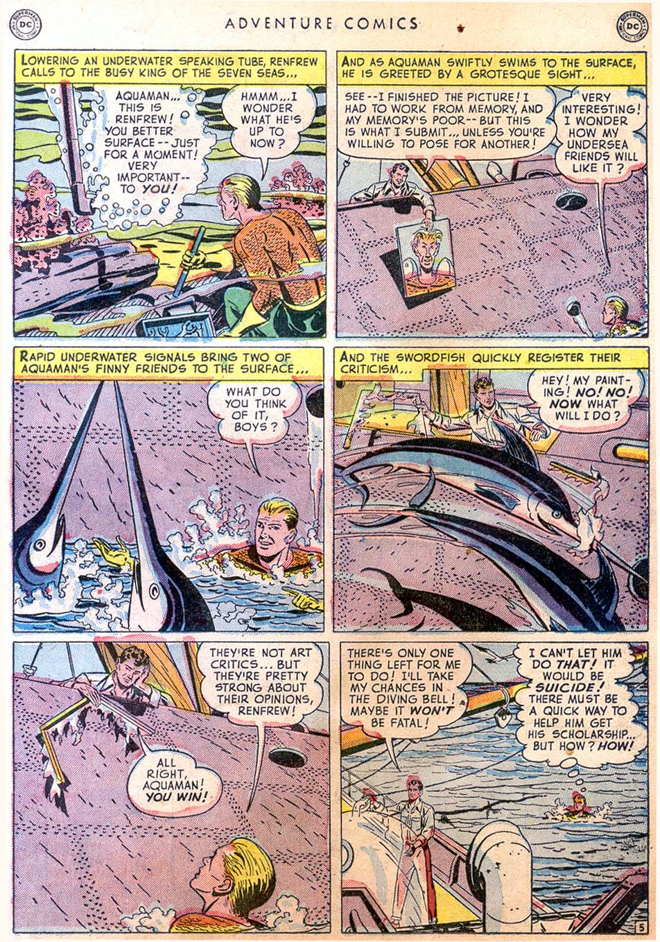Read online Adventure Comics (1938) comic -  Issue #158 - 35
