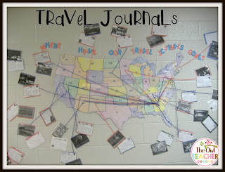 Take your students on an adventure without leaving the classroom!  Incorporate writing and social studies with this engaging travel journals activity!
